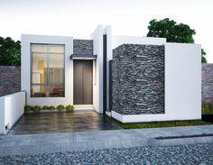 Bungalow House Plans, Bungalow House Design, House Front Design, Small House Design, Modern Exterior House Designs, Modern Home Interior Design, Modern House Design, House Design Pictures, House Construction Plan