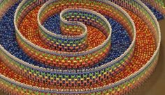 """Imagine how to build this massive spiral structure dominoes. According to the maker Hevesh5 , """"I spent 25 hours spread over 8 days building... #pinoy #pinoyfailblog"""