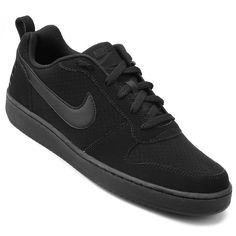 Tênis Nike Recreation Low Masculino - Preto - Compre Agora e61eecf654b