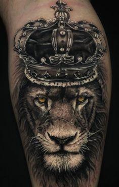 Leo Lion Tattoos, Lion Chest Tattoo, Lion Forearm Tattoos, Lion Tattoo Sleeves, King Tattoos, Animal Tattoos, Sleeve Tattoos, Lion Tattoo King, Tattoo Ink