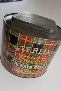 Hey, I found this really awesome Etsy listing at http://www.etsy.com/listing/127876643/sterling-tobacco-tin-pry-top-tobacco-tin