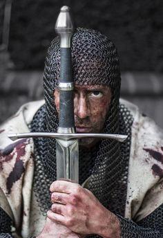 Mesmo diante da morte iminente, os cavaleiros, liderados pelo rei Balduíno IV,  não recuaram em Montgisard.