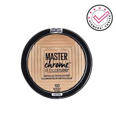 Maybelline New York Face Studio Master Chrome Metallic Highlighter - Molten Gold: Buy Maybelline New York Face Studio Master Chrome Metallic Highlighter - Molten Gold Online at Best Price in India | Nykaa Maybelline, Highlights, Makeup Must Haves, New York, Beauty Shop, Studio, Chrome, Eyeshadow, Beauty Stuff