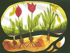 Fensterbild Frühling - waldorfinspiriert