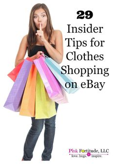 So you want to save some money on back to school shopping by purchasing clothes on eBay?  Here are 29 tips from two insiders.