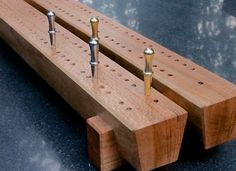"Handmade Wooden Cribbage Board - A Cherry Wood Version Of ""the Rail"""