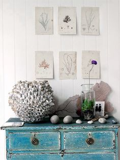 reclaimed furniture for your beach cottage