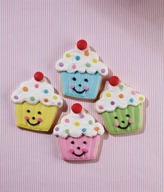 Des petits gâteaux croquants de Wilton!