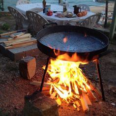 Disco de arado, cocina tradicional Argentina