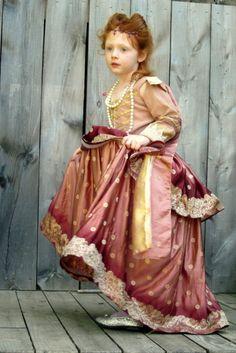 Custom Elizabethan Childs Gown by nellicarave on Etsy. $299.00, via Etsy.