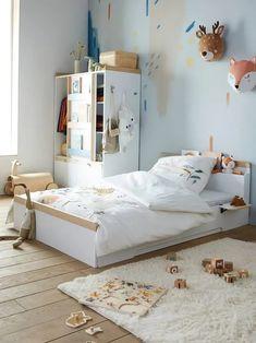 Une chambre organisée et bien rangée pour la rentrée #chambre #décoration #home #homesweethome #kidroom