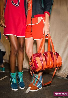 Flats! Sneakers! Heels! These are 60 of the Best Shoes From Spring 2014 Fashion Week  by Nikki Ogunnaike