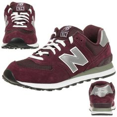 New Balance M574 Sneakers Classic leather Fashion new shoes trainers mens  #NewBalance #VINTAGE