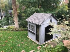 Have a custom idea in mind? Summerwood can make your dream a reality with our any styles and wide range of options… Garage Solutions, Grey Siding, Stony Brook, Arched Doors, Classic Garden, Backyard Sheds, Black Doors, This Is Us Quotes, Shed Plans