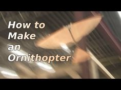 Rubber Band Ornithopter 'Flapping Flying Machine' « Adafruit Industries – Makers, hackers, artists, designers and engineers!