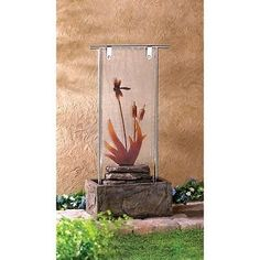 Outdoor Dragonfly Serenity Fountain #HomeLocomotion