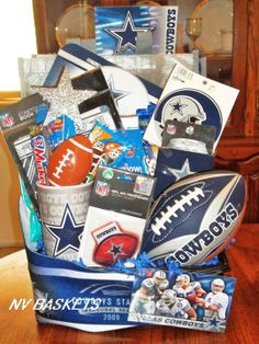DALLAS COWBOYS........our anniversary gift this year. September 10. Just as regular season football begins. Pre-season is one of those I don't care about. (Tim Hawkins)