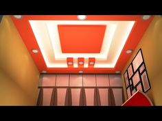 Latest 50 New Gypsum False Ceiling Designs 2017 Ceiling Decorations Living and Bedroom - YouTube