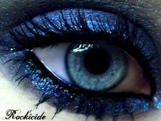 Blue makeup by rockicide on DeviantArt