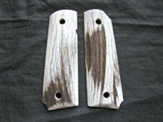 1911 Custom Handmade Elk Pistol Grips  Item #262 by MDGrips on Etsy