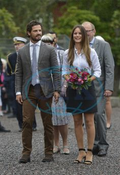 Princess Sofia and Prince Carl Philip visit Varmland - Day 1