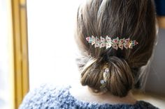gold and pink hair tattoo #t4aw #temporarytattoo #hairtattoo #pary #summer #gold #silver #red
