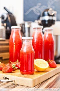 Erdbeer-Sirup | lecker macht laune