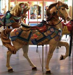 The Holyoke Merry-Go-Round at Heritage State Park in Massachusetts