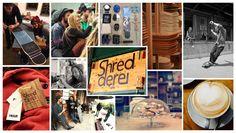 Die Shredderei im Tapetenwerk Leipzig // Skateboardmanufaktur und Café