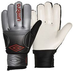 Good price for the beginning keeper. Umbro Speciali Soccer Goalie Gloves -  Silver - Dick s a70973f647