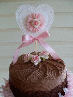 Varita de hermoso Shabby Chic feliz cumpleaños cumpleaños