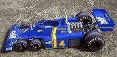 Tyrrell F1 Racing Car Papercraft