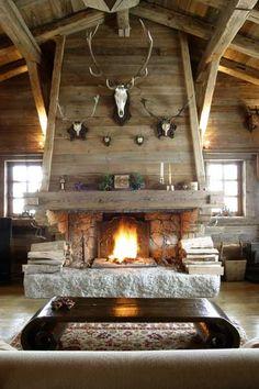 Swiss Chalet ...sehr romantisch im urlaub... aber im wohnzimmer zuhause bleibt der speicherofen mein favorit!