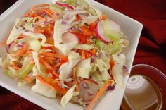 Zesty Cabbage Slaw: Vegetarian Recipes: Healthy Eating on the Hallelujah Diet