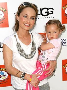 Giada De Laurentiis and Jade