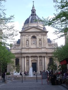 Tourisme Paris - Lycée Val de Durance - la Sorbonne