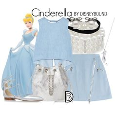 Disney bound - could hack the nita wrap skirt pattern character inspired fa Princess Inspired Outfits, Disney Princess Outfits, Cute Disney Outfits, Disney Themed Outfits, Character Inspired Outfits, Disney Bound Outfits, Disney Dresses, Girly Outfits, Cute Outfits
