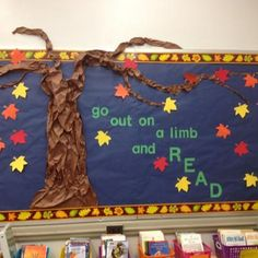 Independent reading bulletin board