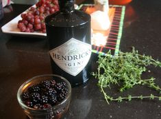 Blackberry Thyme Bramble Cocktail  2 oz gin (London Dry style) 1 oz fresh lemon juice 1 oz thyme-infused simple syrup (see below for recipe)...