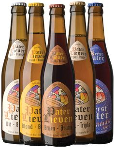 I had one of these Pater Lieven beers in Belgium and loved it, but I can't remember which one. I would love to find any of them here in the States.