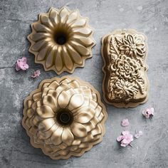 Nordic Ware Floral Loaf Pan #williamssonoma