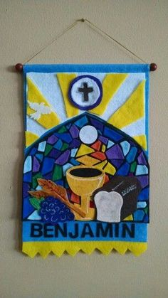 Ideas for a communion banner First Communion Banner, Baptism Banner, Boys First Communion, Communion Banners, Church Banners Designs, Balloon Decorations Party, Catholic Gifts, Banner Ideas, Shower Favors