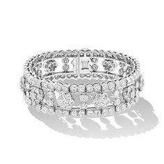 Van Cleef & Arpels - スノーフレイク ブレスレット/エレガントでタイムレスなスノーフレイク コレクション。プラチナ×ダイヤモンド