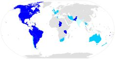 Countries that grant citizenship to anyone born within their borders Western World, Citizenship, Cartography, Countries Of The World, Tourism, Empire, Country, Birth, Early Education