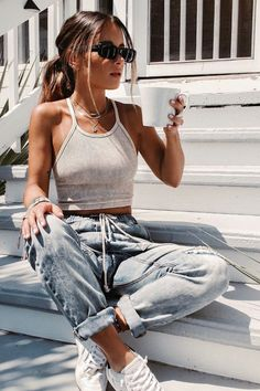 Teen Fashion Outfits, Mode Outfits, 90s Fashion Grunge, Punk Fashion, Summer Outfits For Teens, Spring Outfits, Teen Summer, Summer Clothes, Teenager Outfits