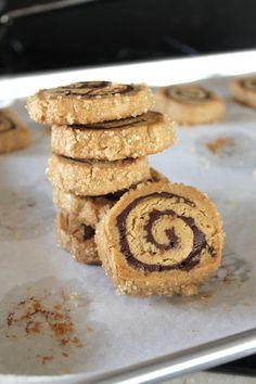 peanut butter chocolate swirl cookies
