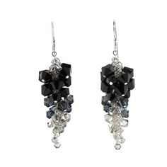The Cluster Earrings Kit by FusionBeads.com would be a great addition to your New Year's eve outfit. You will sparkle all night in these earrings!