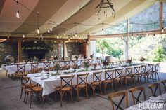 Festoons - Queenstown Wedding - Festoon lights - The Winehouse Queenstown - Bespoke Weddings and Events Wedding Hire, Wedding News, Wedding Venues, Autumn Wedding, Greenery, Festoon Lights, Table Decorations, Bespoke, Events