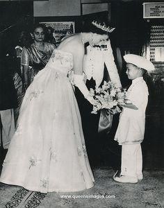 H.M.Queen Elizabeth in Ceylon