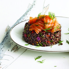 Smoked salmon and lentil pilaf | Five healthy & satisfying lentil recipes | Chatelaine